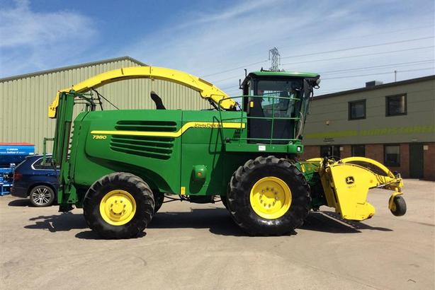 John Deere For Sale >> Used Forager For Sale John Deere 7380 11011289 Agmachinery